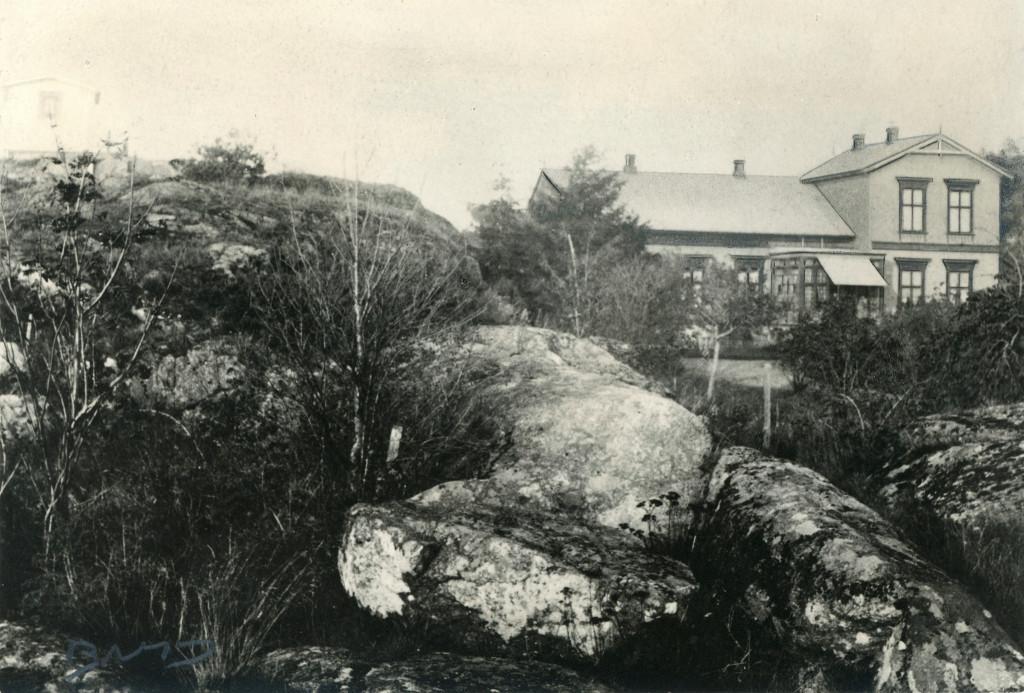 Bilde av Framnesveien - direktørboligen til Christen Christensen