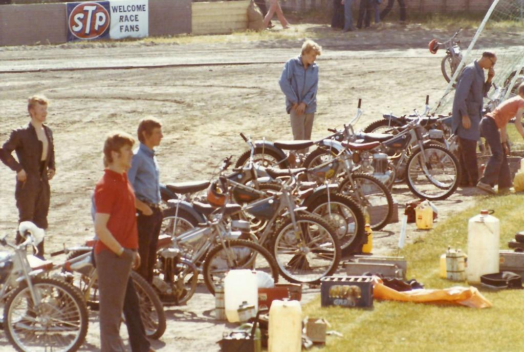 Bilde av Speedway på Stadion i 1971