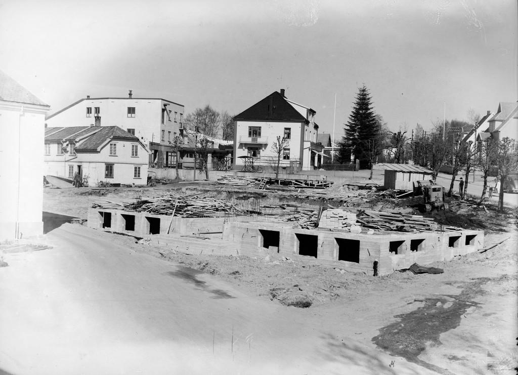 Bilde av Bygging av bakeriet