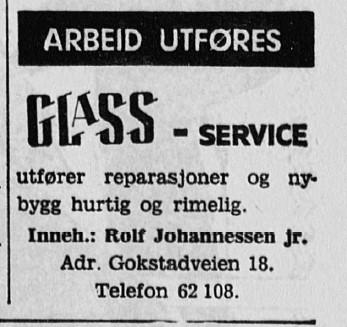 Bilde av Glass-Service / Gokstadveien 18