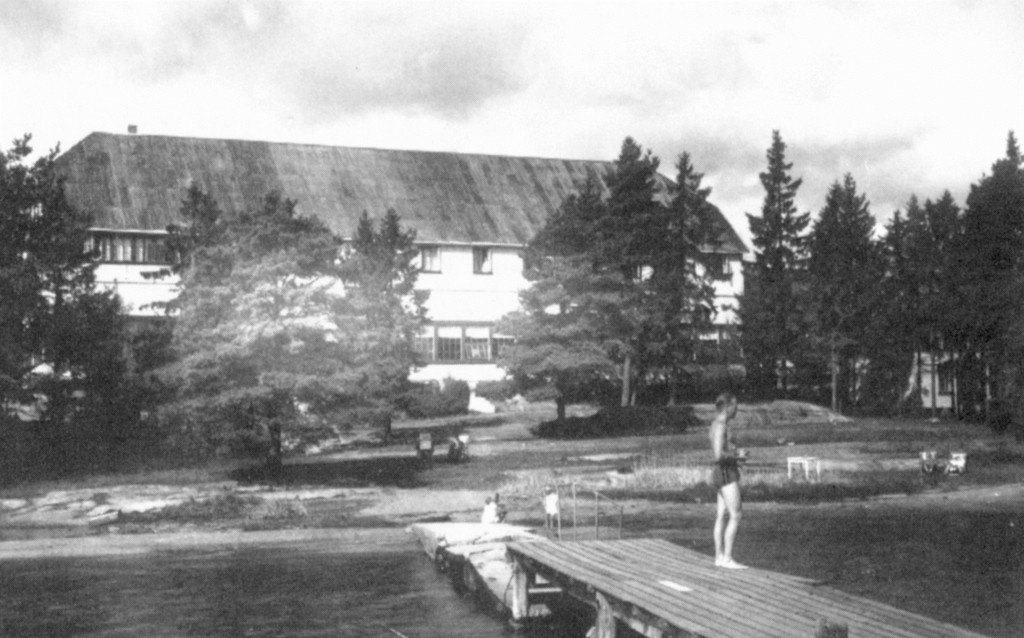 Bilde av Brygga i 1930