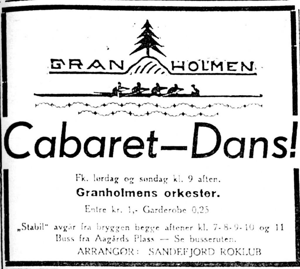 Bilde av Cabaret og dans på Granholmen