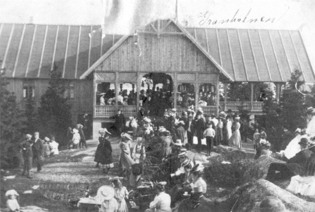 Bilde av Den første paviljongen