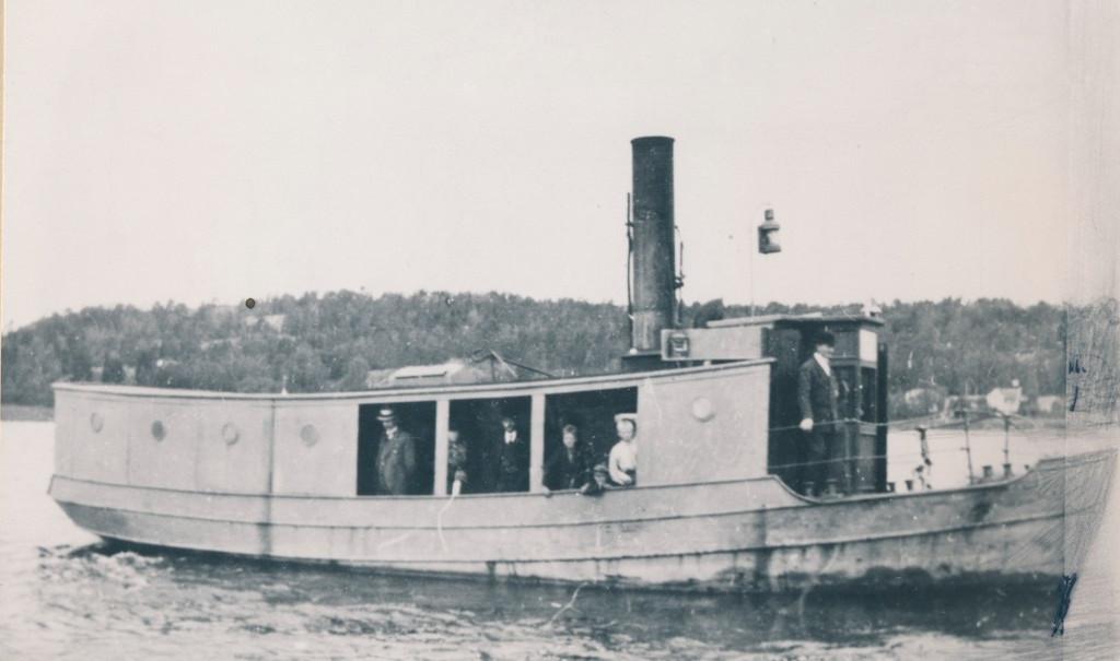 Bilde av Rutebåten D/S Huvik