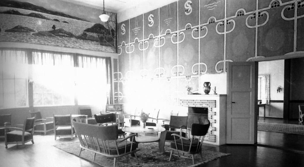 Bilde av Seilforeningens lokaler i Granholmen hotell