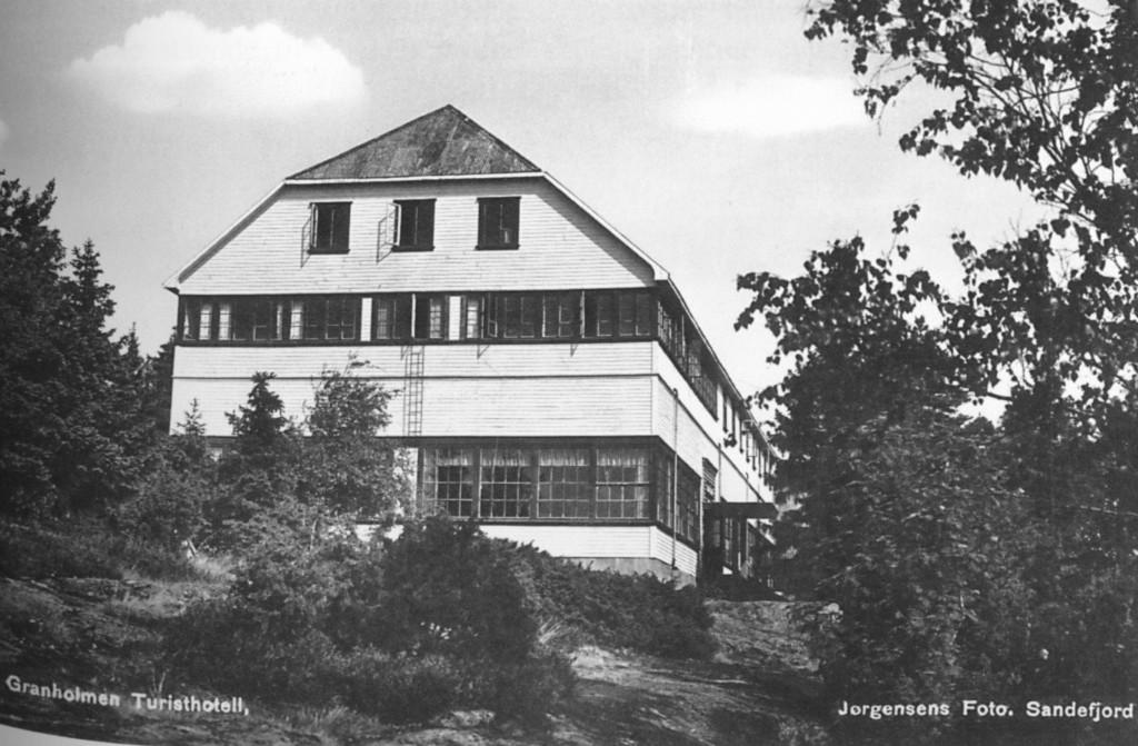 Bilde av Granholmen Hotel sett fra sør