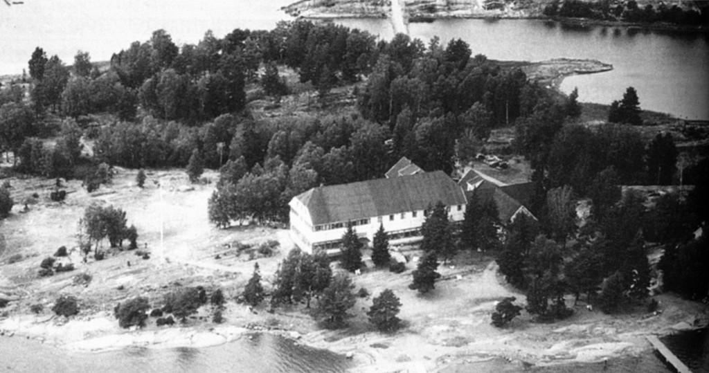 Bilde av Granholmen turisthotel 1931