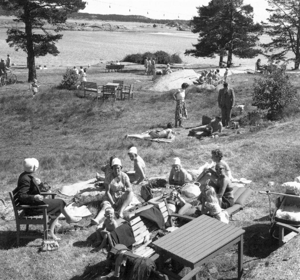 Bilde av Badeliv på Granholmen