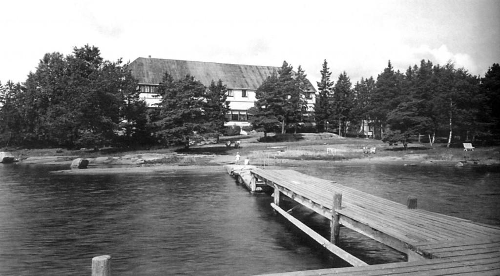 Bilde av Hotel med brygge