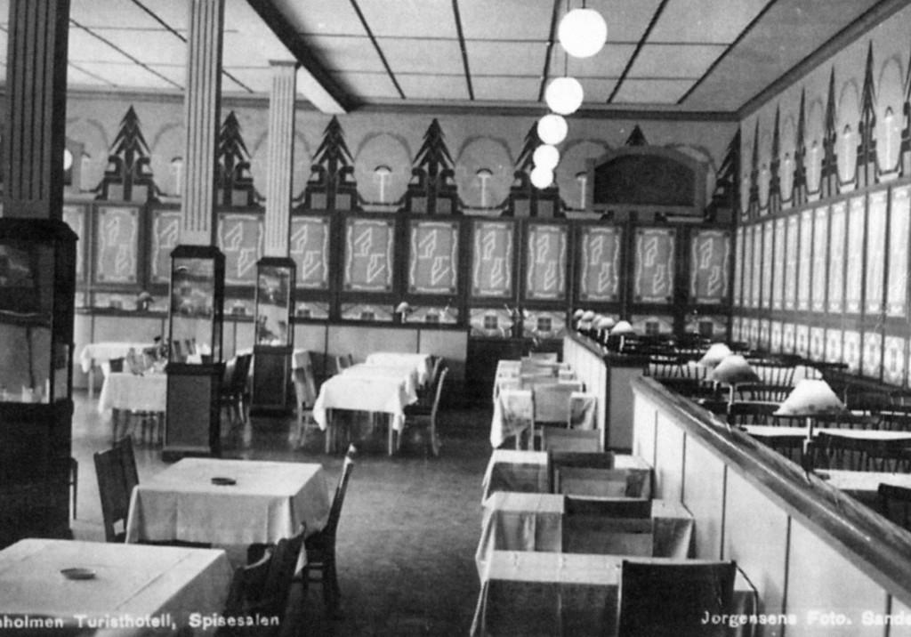 Bilde av Fra spisesalen på Granholmen hotell