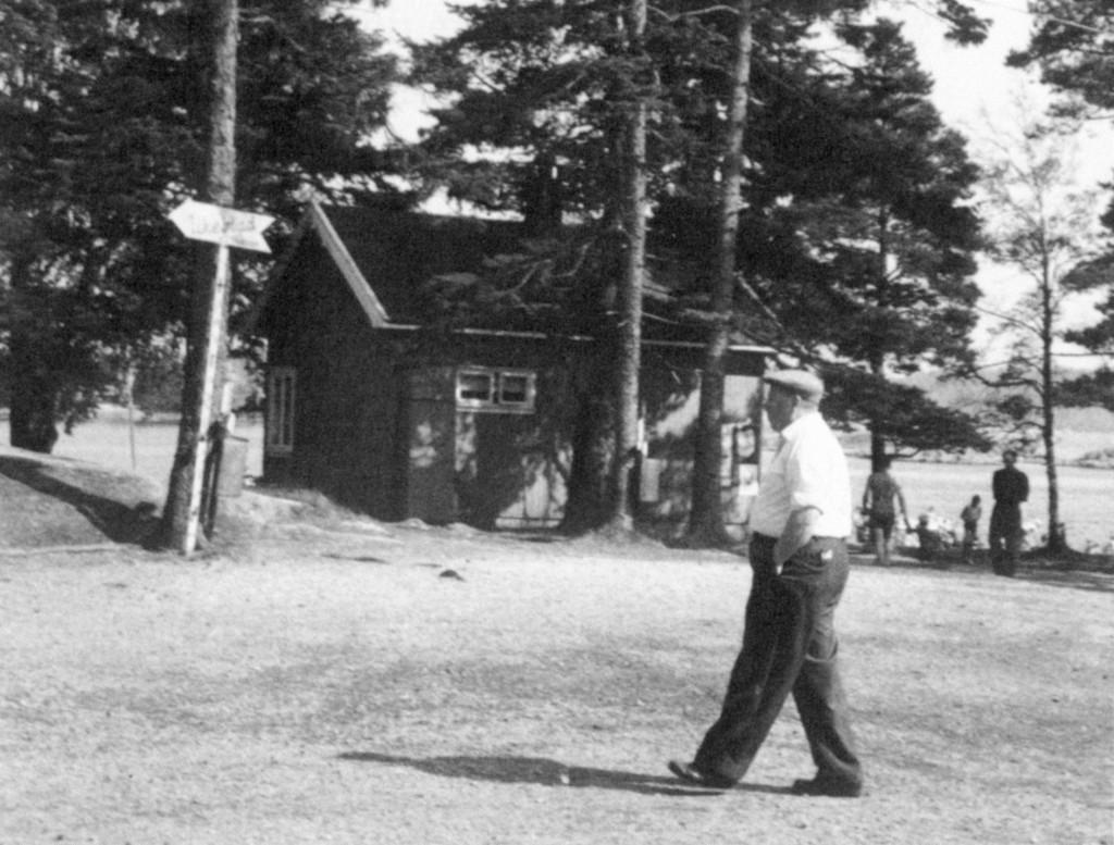 Bilde av Første hytta på Granholmen