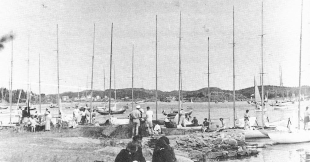Bilde av Jubileumsseilas 1950