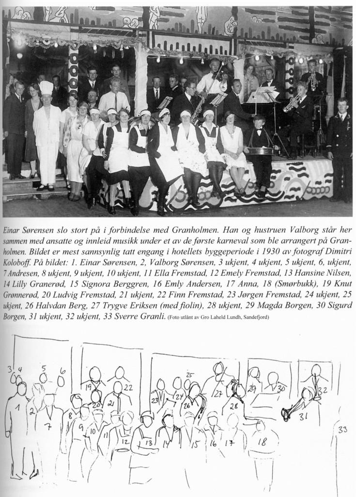 Bilde av Fra et tidlig karneval