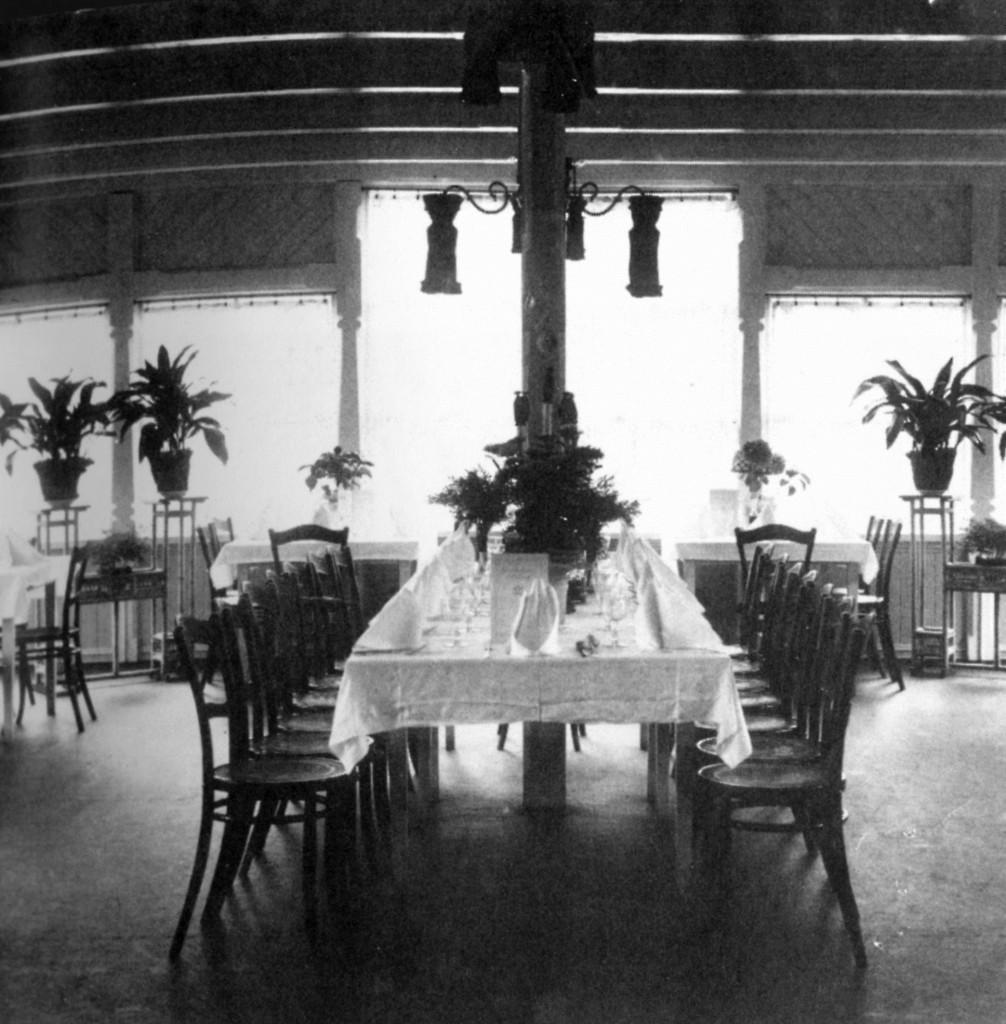 Bilde av Spisesalen i den første paviljongen
