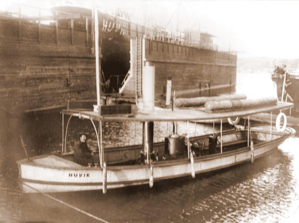 Bilde av Rutebåten DS Huvik