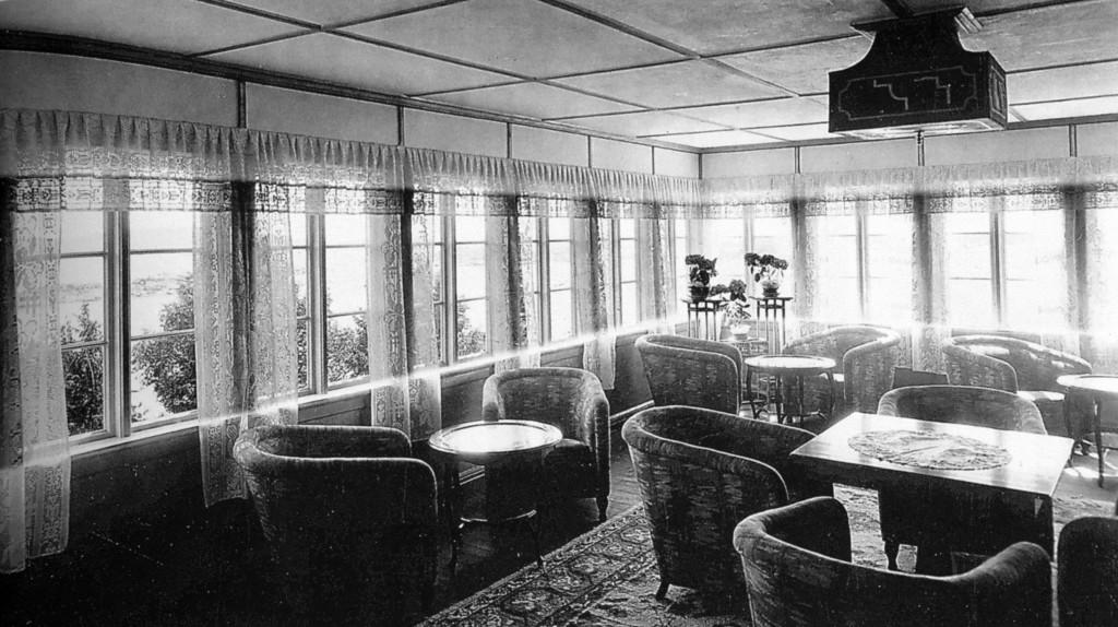 Bilde av Salongen på Granholmen Turisthotell