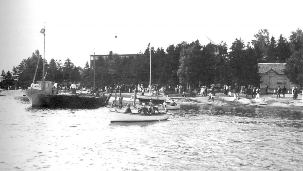 Bilde av Hektisk sommerdag på Granholmen