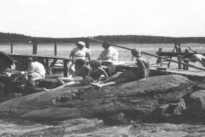 Bilde av Rekreasjon og  badeliv og på Granholmen