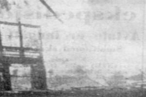 Bilde av Granholmen Hotel i brann