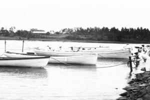 Bilde av Granholmen under andre verdenskrig