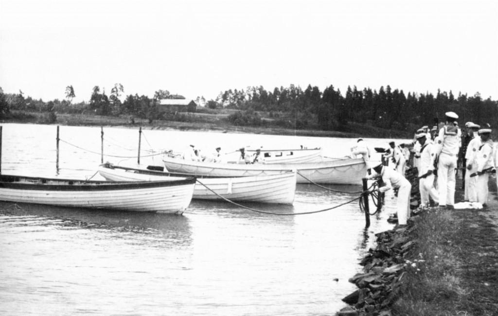 Bilde av Unghirdmarinen på Granholmen