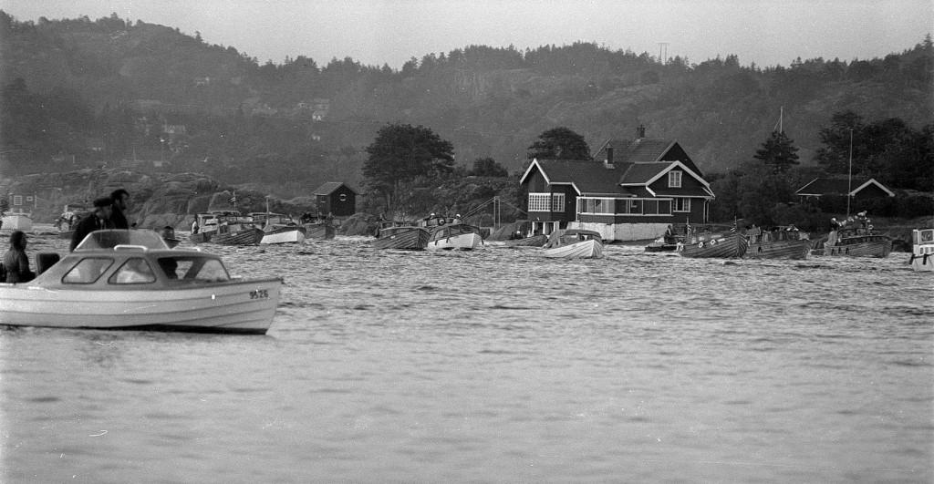 Bilde av Båtkortesje St. Hansaften