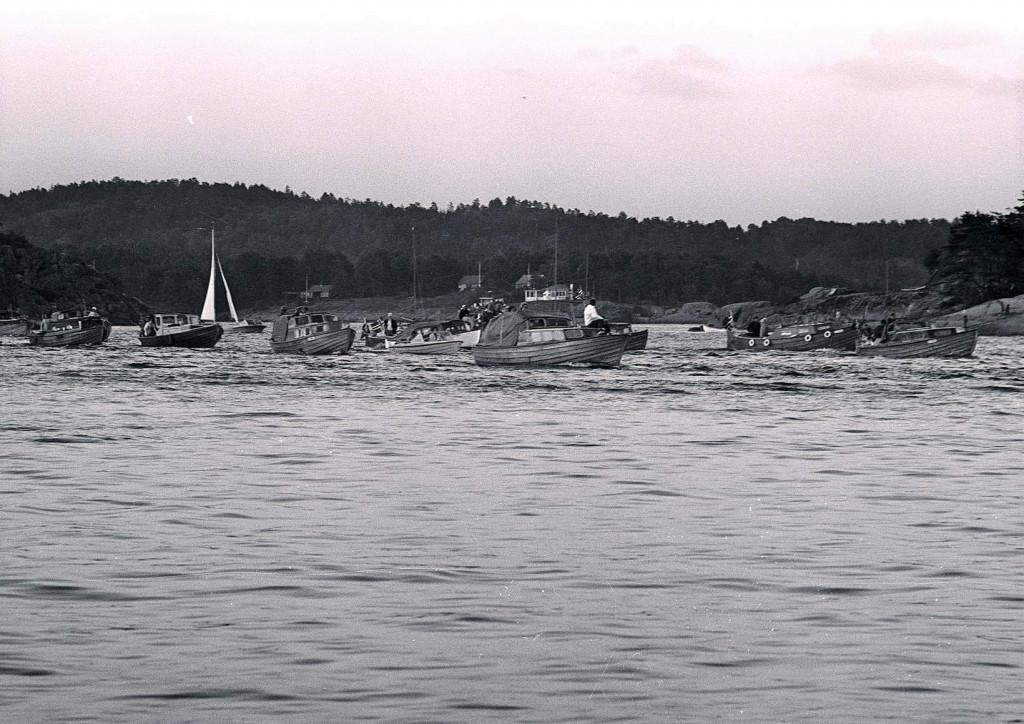 Bilde av Båtkortesje