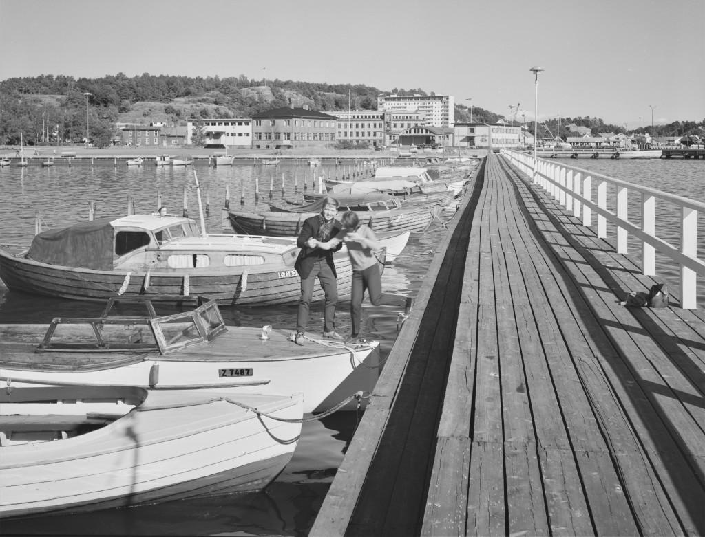 Bilde av Småbåthavna i Hesteskoen