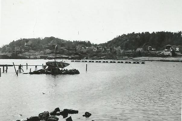 Bilde av Strømbadet 1950-årene