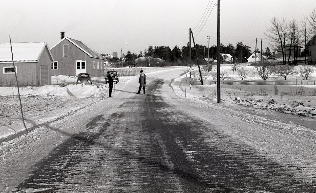 Bilde av Hystadveien 246 ved Lofterød i 1960