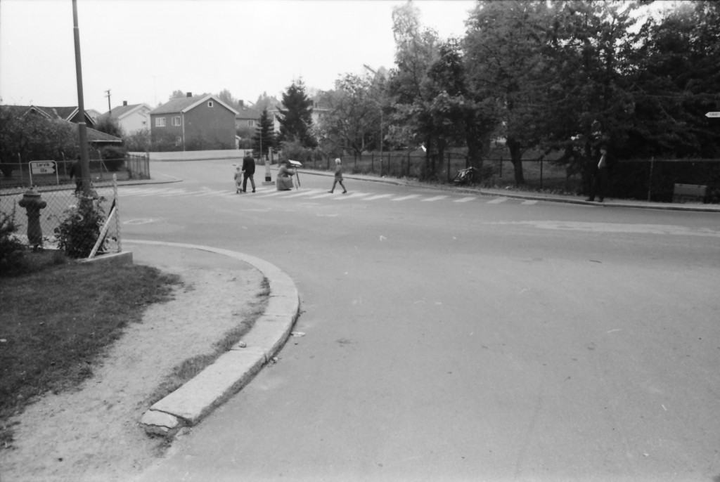 Bilde av Krysset Hystadveien / Bugårdsgata (Prinsens gate)