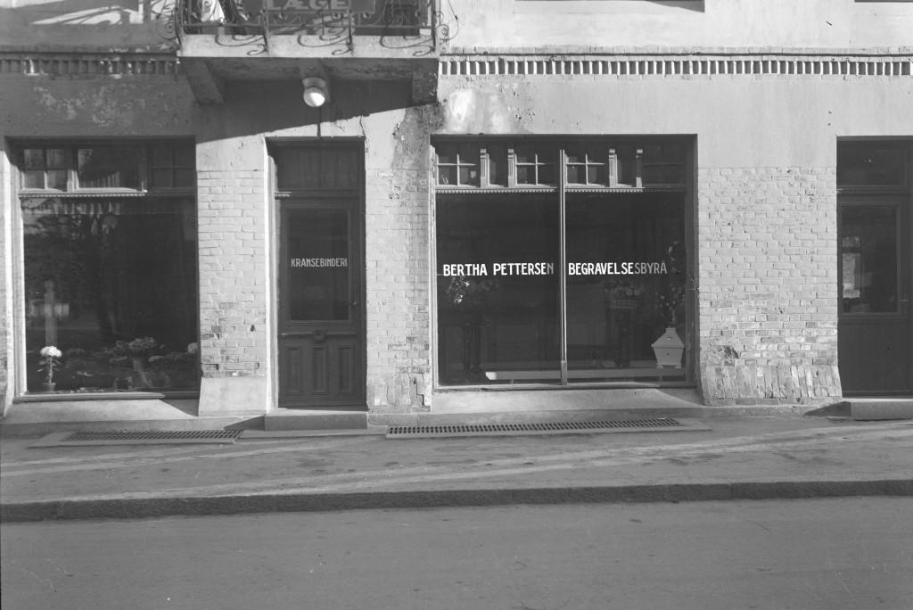 Bilde av Bertha Pettersen Begravelsesbyrå i Kongens gate 18