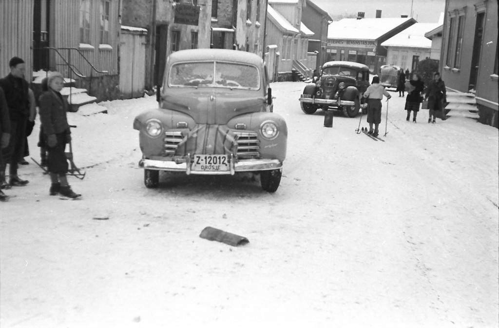 Bilde av Trafikkuhell 1947 - Prinsens gate