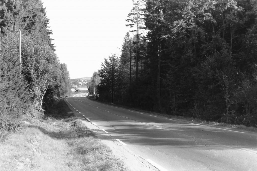 Bilde av Bjørnerudbakken / Raveien / Sørlandske hovedvei