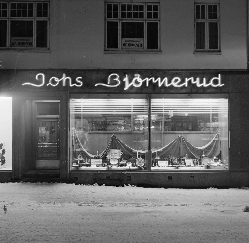 Bilde av Johs Bjørnerud i Storgata 17