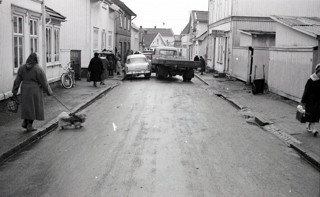 Bilde av Trafikkuhell 1960