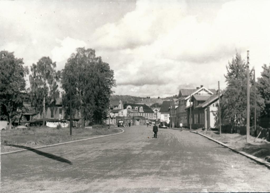 Bilde av Thor Dahls gate mot Torget