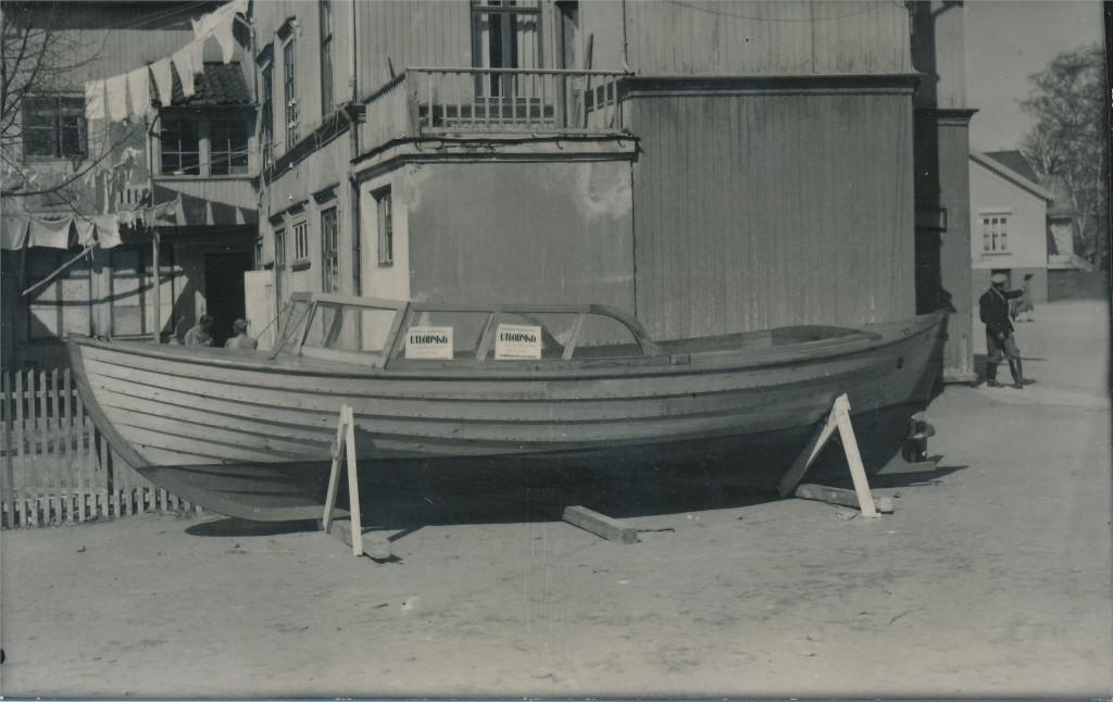 Bilde av Båt til utlodning / Torget 1