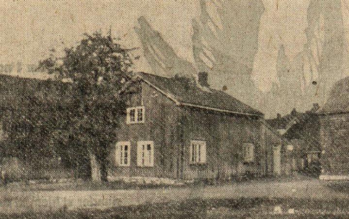 Bilde av Eldste hus i 1933 - Torggangen 5