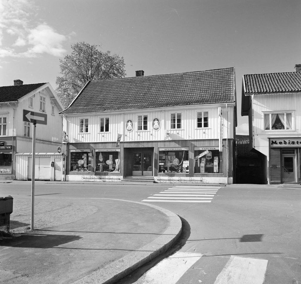 Bilde av M. Sørensens Farvehandel as
