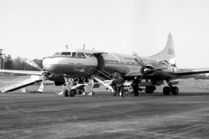 Bilde av Åpning 5. okt. 1959 som sivil lufthavn