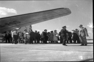 Bilde av Første charterfly