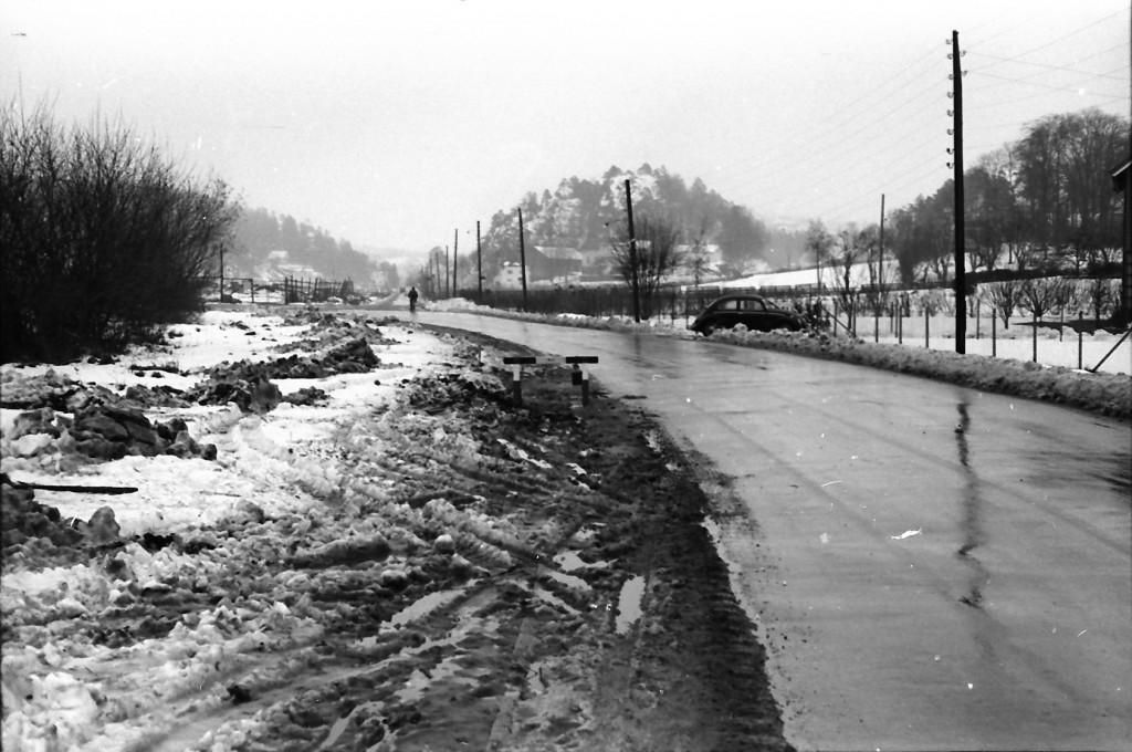 Bilde av Kilen-krysset - lenge før rundkjøring