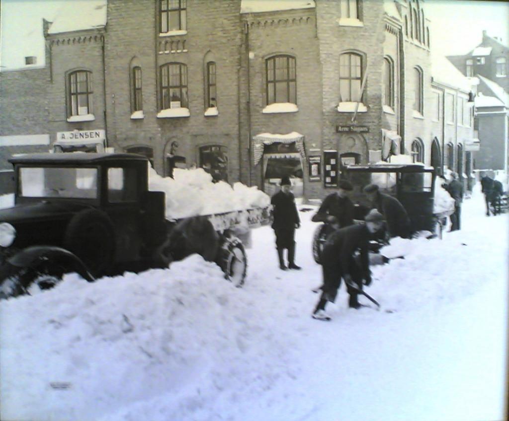 Bilde av Aagaards Plass  - Snørydding