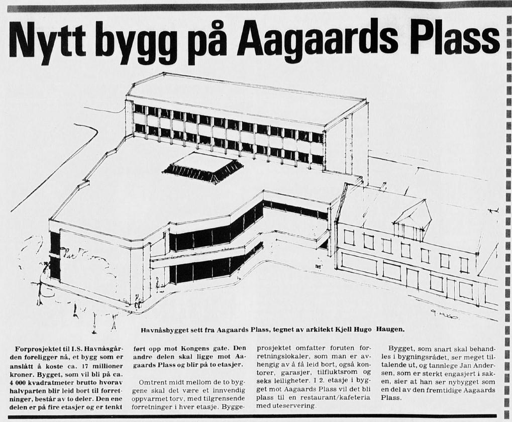 Bilde av Aagaards plass 5