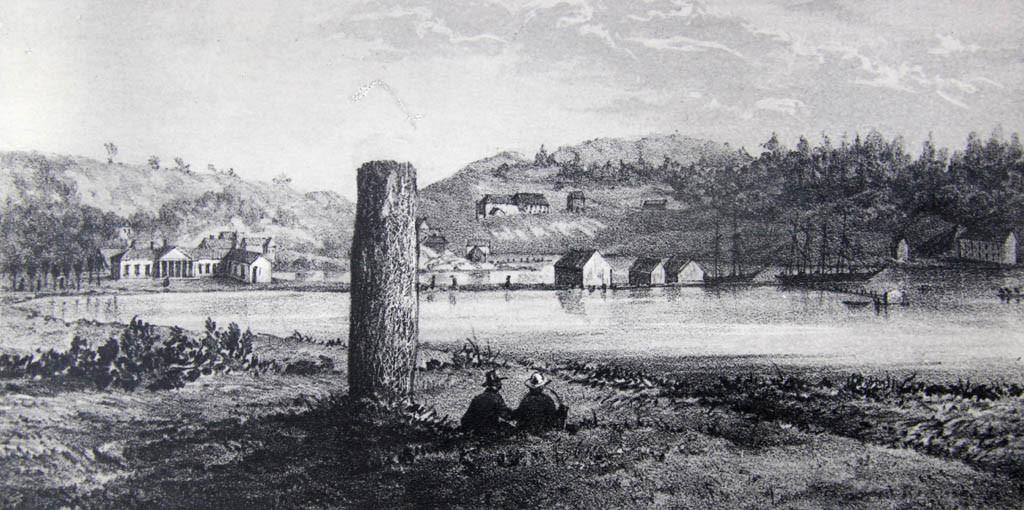 Bilde av Bautastein i Badeparken