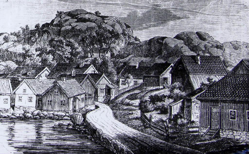 Bilde av Tegning fra 1861