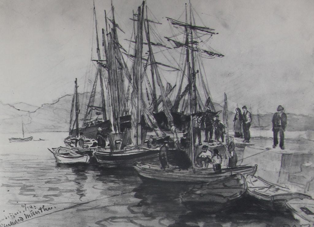 Bilde av Utstikker I i 1879