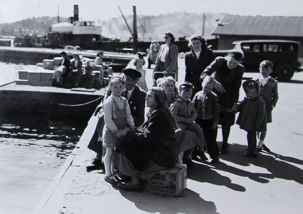 Bilde av Brygga 18 - Ankomst hvalfangere