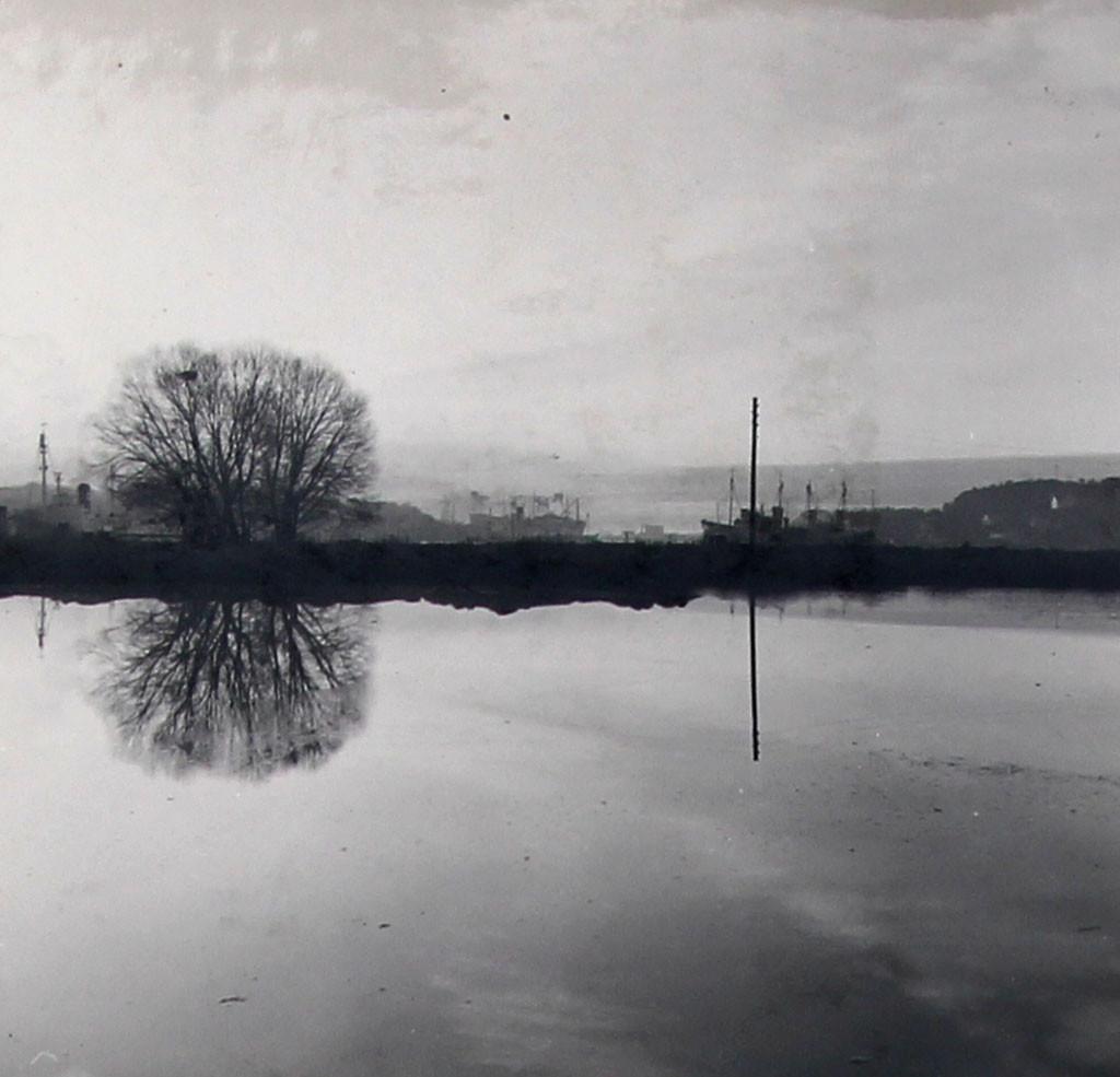 Bilde av Fra en av innsjøene i Badeparken.